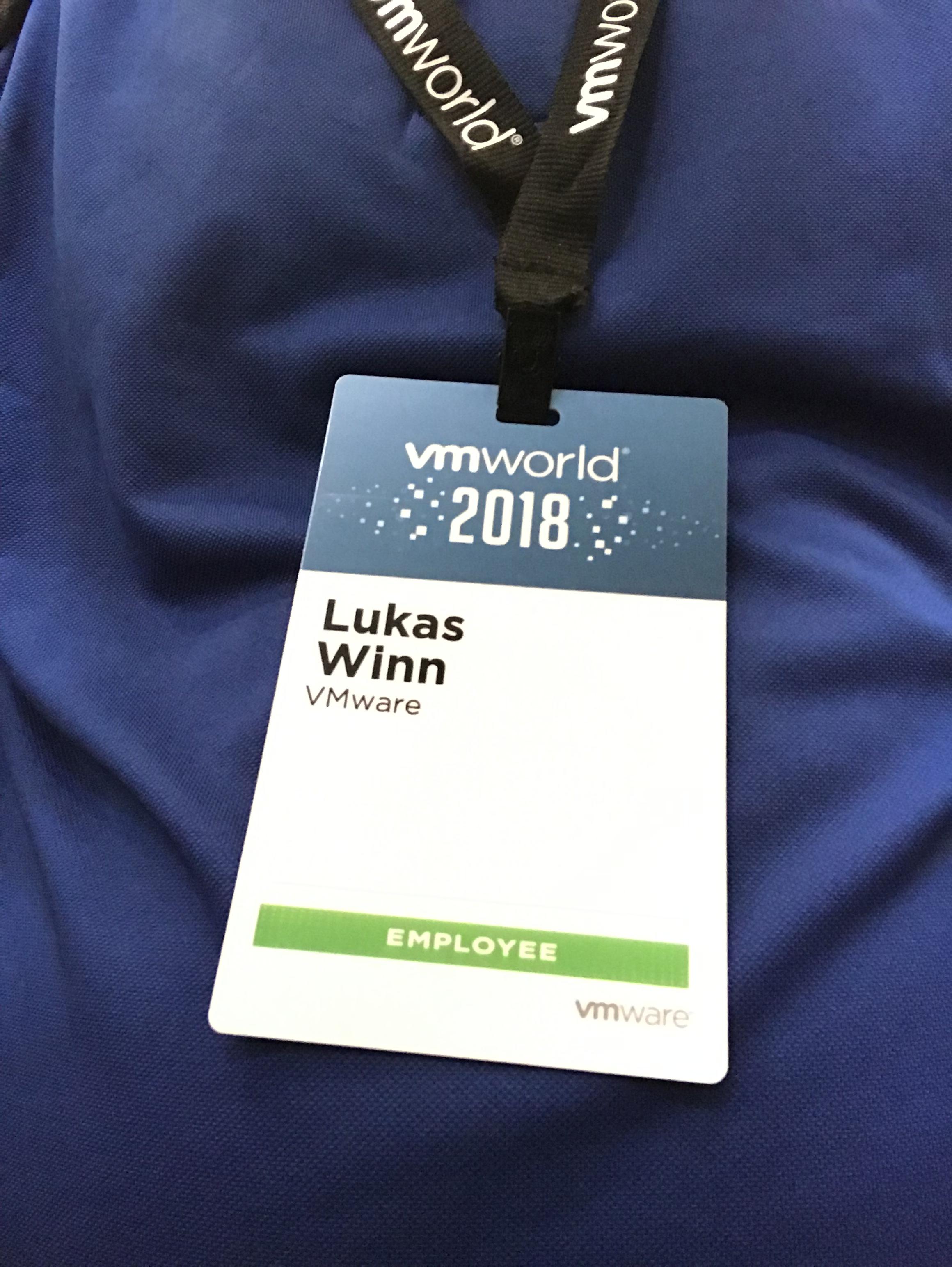 VMworld Europe 2018 – Day 0 aka TAM Customer Day – lukaswinn net